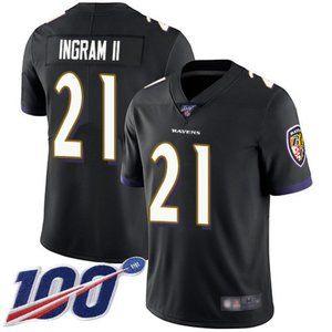 Ravens Mark Ingram 100th Season Jersey